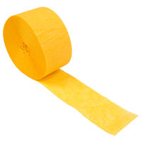 Creative Converting 078520 81' School Bus Yellow Streamer Paper - 12/Case