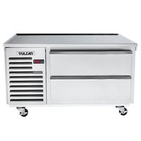 Vulcan VR48 48 inch 2 Drawer Remote Cooled Refrigerated Chef Base