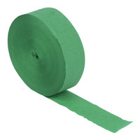 Creative Converting 076330 500' Emerald Green Streamer Paper - 12/Case