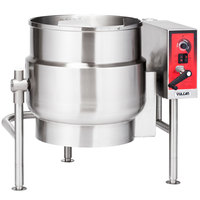 Vulcan K60ELT 60 Gallon Tilting 2/3 Steam Jacketed Electric Kettle - 208V, 3 Phase, 18 kW