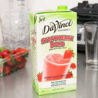 DaVinci Gourmet 64 oz. Strawberry Bomb Real Fruit Smoothie Mix