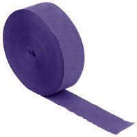 Creative Converting 076130 500' Purple Streamer Paper - 12/Case