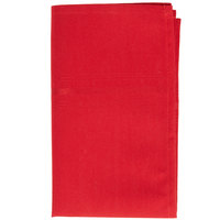 Marko 53761822NH001 SoftWeave Epicure 18 inch x 22 inch Red Tone on Tone Striped Napkin - 12/Pack