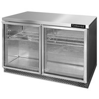 Continental Refrigerator SW48-GD-FB 48 inch Front Breathing Undercounter Refrigerator with Glass Doors - 13.4 Cu. Ft.