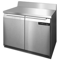 Continental Refrigerator SW36-BS-FB 36 inch Front-Breathing Worktop Refrigerator - 10.3 cu. ft.