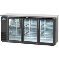 Arctic Air ABB72G 73 inch Glass Door Back Bar Refrigerator