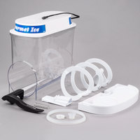 Bunn 34000.0400 White Post-Mix Hopper Set with Lighted Lid