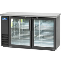 Arctic Air ABB60G 61 inch Glass Door Back Bar Refrigerator