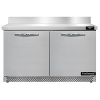 Continental Refrigerator SW48-BS-FB 48 inch Front-Breathing Worktop Refrigerator - 13.4 cu. ft.