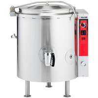 Vulcan K20GL-LP Liquid Propane 20 Gallon Stationary 2/3 Steam Jacketed Kettle - 100,000 BTU