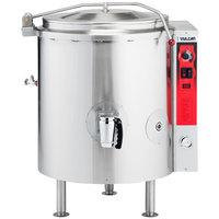 Vulcan K20GL-LP Liquid Propane 20 Gallon Stationary 2/3 Steam Jacketed Kettle - 100,000 BTU