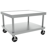 Vulcan STAND/C-VCCB36 30 inch x 37 inch Mobile Stainless Steel Equipment Stand