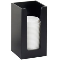 Cal-Mil 298-96 Midnight Bamboo Single Countertop Cup and Lid Organizer