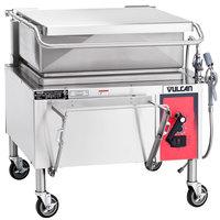 Vulcan VG30-NAT Natural Gas 30 Gallon Manual Tilt Braising Pan / Tilt Skillet - 90,000 BTU