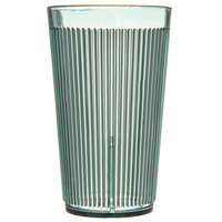 Carlisle 403309 Crystalon RimGlow 12 oz. Meadow Green Polycarbonate Tumbler - 48/Case
