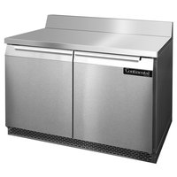 Continental Refrigerator SWF48-BS-FB 48 inch Front-Breathing Worktop Freezer - 13.4 cu. ft.
