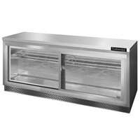 Continental Refrigerator SW72-SGD-FB 72 inch Front Breathing Undercounter Refrigerator with Sliding Glass Doors - 20.6 Cu. Ft.