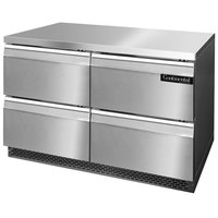 Continental Refrigerator SWF48-FB-D 48 inch Front Breathing Undercounter Freezer with Four Drawers