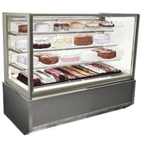 Federal Industries ITR6034-B18 Italian Series 60 inch Floor Model Refrigerated Bakery Display Case - 26 cu. ft.