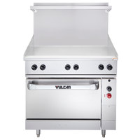 Vulcan EV36S-36G208 Endurance Series 36 inch Electric Range with Griddle Top - 208V, 15.2 kW