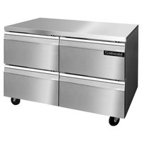 Continental Refrigerator SWF48-D 48 inch Undercounter Freezer with Four Drawers
