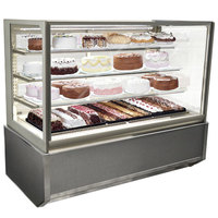 Federal Industries ITR6026-B18 Italian Series 60 inch Floor Model Refrigerated Bakery Display Case - 19 cu. ft.