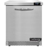 Continental Refrigerator SWF27-FB 27 inch Front Breathing Undercounter Freezer