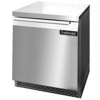 Continental Refrigerator SWF27-FB 27 inch Front Breathing Undercounter Freezer