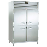 Traulsen RDH232WUT-HHS Stainless Steel 51.6 Cu. Ft. Two Section Half Door Reach In Holding Cabinet / Refrigerator - Specification Line