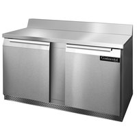 Continental Refrigerator SWF60-BS-FB 60 inch Front-Breathing Worktop Freezer - 17 cu. ft.