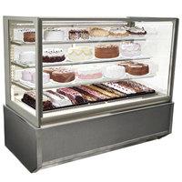 Federal Industries ITR3634-B18 Italian Series 36 inch Floor Model Refrigerated Bakery Display Case - 15.5 cu. ft.