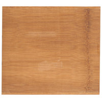 American Metalcraft BWB109 10 inch x 9 inch Carbonized Bamboo Serving Board
