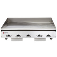 Wolf WEG60E-240/1 60 inch Electric Countertop Griddle with Thermostatic Controls - 240V, 1 Phase, 27 kW