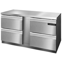 Continental Refrigerator SWF60-FB-D 60 inch Front Breathing Undercounter Freezer with Four Drawers