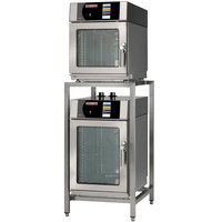 Blodgett BLCT-6-10E-208/3 Double Mini Boilerless Electric Combi Oven with Touchscreen Controls - 208V, 3 Phase, 6.9/10.4 kW