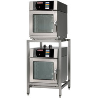 Blodgett BLCT-6-6-E-240/3 Double Mini Boilerless Electric Combi Oven with Touchscreen Controls - 240V, 3 Phase, 9.2 kW