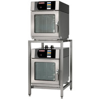 Blodgett BLCT-23-23-E-240/3 Double Mini Boilerless Electric Combi Oven with Touchscreen Controls - 240V, 3 Phase, 7.2 kW