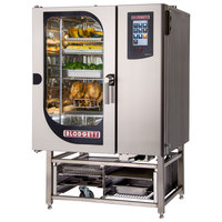 Blodgett BCT-101E-PT Pass-Through Electric Combi Oven with Touchscreen Controls - 208V, 3 Phase, 18 kW