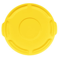 Rubbermaid FG260900YEL BRUTE Yellow 10 Gallon Trash Can Lid