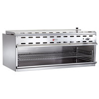 Wolf WICM72-NAT 72 inch Natural Gas Infrared Cheese Melter - 60,000 BTU
