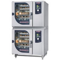 Blodgett BLCM-61-61E Double Boilerless Electric Combi Oven with Dial Controls - 240V, 3 Phase, 9 kW / 9 kW