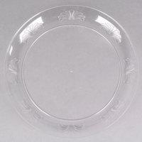 "WNA Comet DWP10144C 10 1/4"" Clear Plastic Designerware Plate - 144/Case"