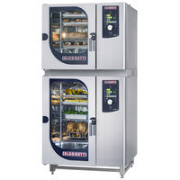Blodgett BLCM-61-101E Double Boilerless Electric Combi Oven with Dial Controls - 240V, 3 Phase, 18 kW / 9 kW