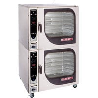 Blodgett CNVX-14G-NAT Natural Gas Double Full Size Convection Oven with Manual Controls - 130,000 BTU