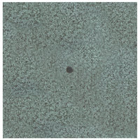 Grosfillex UT245025 36 inch Square Granite Green Outdoor Molded Melamine Table Top with Umbrella Hole