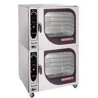 Blodgett BX-14G-LP Liquid Propane Double Full Size Boilerless Combi Oven with Manual Controls - 130,000 BTU