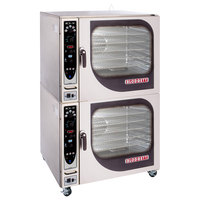 Blodgett BCX-14G-NAT Natural Gas Double Full Size Combi Oven with Manual Controls - 230,000 BTU