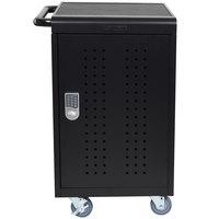 Luxor LLTM30-B-KP 30 Tablet / Laptop Charging Station and Storage Cart