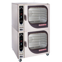 Blodgett BX-14E-208/3 Double Full Size Boilerless Electric Combi Oven with Manual Controls - 208V, 3 Phase, 38 kW