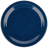 Carlisle 4350135 Dallas Ware 9 inch Cafe Blue Melamine Plate - 48/Case